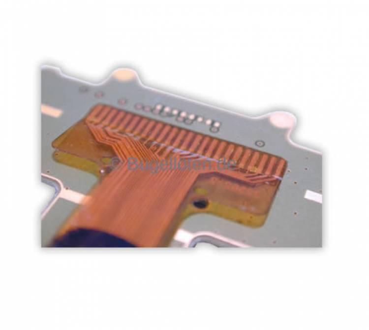 Lötung einer Flexfolie auf einer Leiterplatte
